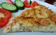 Bayat Ekmekten Börek Tarifi Quiche, Breakfast, Food, Morning Coffee, Meal, Essen, Quiches, Hoods, Meals