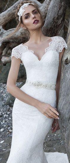 Featured Dress: Lanesta Bridal; Wedding dress idea.