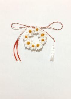 #martisor #brosa #crochetflower