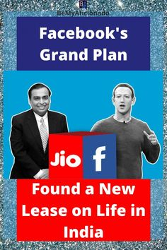 Facebook's Grand Plan found a new lease on life in India by buying a stake in Reliance JIO Win Win Situation, World Population, Net Neutrality, Life Happens, Content Marketing, India, How To Plan, News, Indie