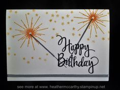 Stampin' Up!'s It's a Celebration stamp set from 2016 Holiday catalogue and Stylized Birthday stamp
