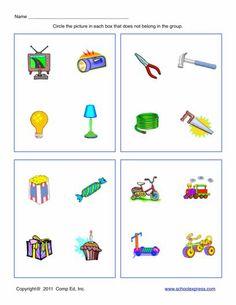 FREE worksheets, create your own worksheets, games. Preschool Learning Activities, Free Preschool, Speech Therapy Activities, Language Activities, Fun Worksheets For Kids, Math For Kids, Kindergarten Worksheets, Free Worksheets, Speech Language Therapy
