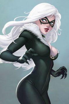 Black Cat | #comics  Auction your comics on http://www.comicbazaar.co.uk ®... #{T.R.L.}