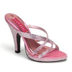 ef766a7ebd75 SIREN 02R ° Damen Sandalette ° Pink Strass ° Bordello
