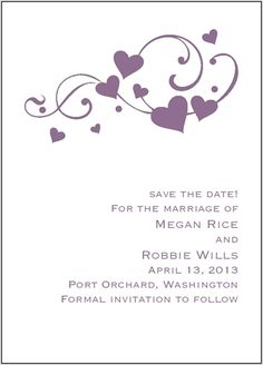 Just ordered these Save The Date cards from David's Bridal! :D