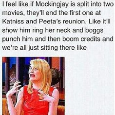 WE EXPECT NO LESS FROM YOU LIONSGATE. this is exactly what I thought the ending would be like. Exactly.