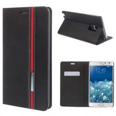 Funda Book Samsung Galaxy Note Edge Contrast Stand Negra