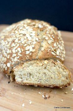 Honey Multigrain Wheat Bread - This hearty wheat bread is full of 12 grains, honey, and a few other ingredients, and makes two delicious loa...