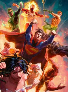 Justice League by Xermanico