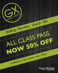 The All Class Pass is now 50% off!
