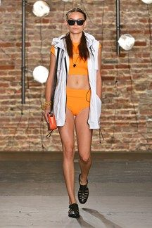 Kenneth Cole S/S 14, Sports Luxe, Catwalk 31. Garment interpretation 5.