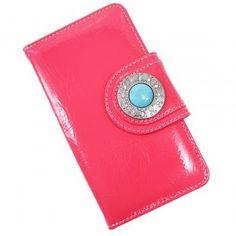 ca0f081e4d Capinha Carteira de Couro Nava Verniz Pink Para Celular Samsung Galaxy J5  Pro J530 - Cellway