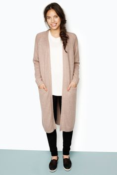 Monki Knitted Cardigan | 7 mama-friendly cardigans for fall and beyond | mamalooks.com