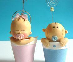 Resultado de imagen para centros de mesa para baby shower, porcelana fria, pinterest