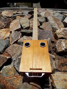 Cigar Box Guitar #2 ....Headless
