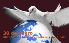 30 de enero. Día Escolar de la No Violencia y la Paz Desde el INTEF destacamos algunos de los recursos y páginas de interés para desarrollar el tema de la paz en las aulas.