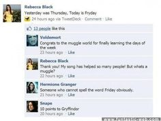 God bless the Harry Potter fandom. So proud to be a part of it!