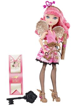 Ever After High C.A.Cupid Doll 童话高中娃娃 爱神丘比特-淘宝网