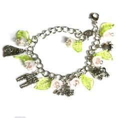 I love Cats  Charm Bracelet with adorable different by OnlyBiju