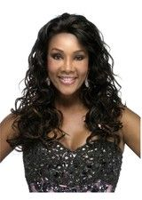 Mysterious Jet Black 20 Inch Synthetic Wig