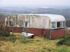 Abandoned 1960s Bluebird Challenger