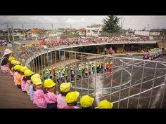 A new kind of kindergarten design encourages kids to be their silly selves.  I want to go here!!!!! Yubinbango190-0032 Tachikawa-shi, Tokyo Kamisuna cho 2 -chome, 7-1