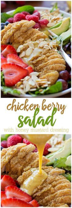 Chicken Berry Salad
