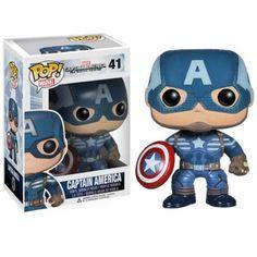 Captain America Winter Soldier POP Captain America Vinyl Bobble Head Figure