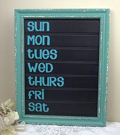 Daily Wood Chalk Board Aqua Blue French Style Message Board 12x15 VOPSSCI http://www.amazon.com/dp/B00L7BIVCK/ref=cm_sw_r_pi_dp_6EBTtb0TBG7467KX