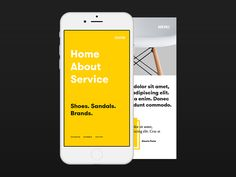 Mobile Menu | Mobile User Interface #UI Design