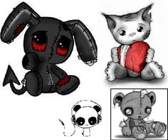 emo animals   emo animals graphics and comments