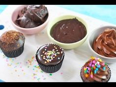 Chocolate Ganache Recipe - 3 Ways! Whipped, Poured and Spread Frosting by My Cupcake Addiction - YouTube