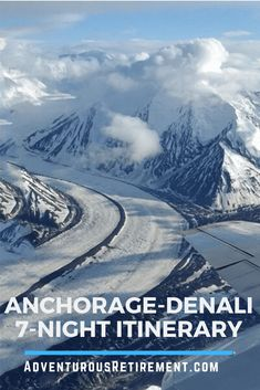 This Alaska Trip Plan concentrates on the Denali area, and Plan Anchorage-Denali National Park Itinerary with plenty to do. Alaska Travel, Travel Usa, Anchorage To Denali, Places To Travel, Places To Visit, Alaska Adventures, Run Tour, Us Destinations