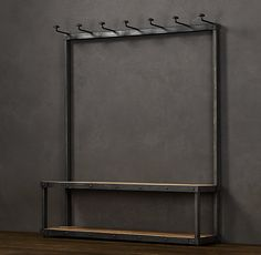 Coat Rack Bench 5' | Coat Racks | Restoration Hardware