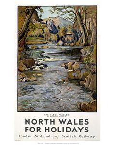 North Wales Railway Poster info@garreggochcaravanpark.co.uk http://www.garreggochpark.co.uk