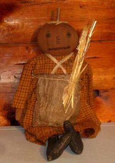Pumpkin doll....