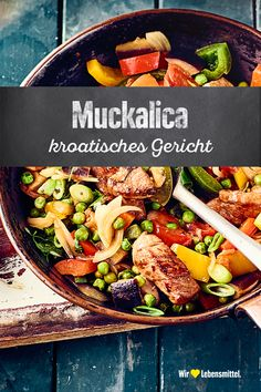 Croatian Cuisine, Croatian Recipes, Dutch Oven, Pasta Salad, Low Carb, Buffet, Pork, Food And Drink, Snacks