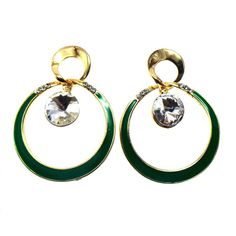 Studded fashion earrings, beautiful dangler for parties. Indulge in Modish Look.