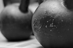 Need some ideas for a workout just with one kettlebell?