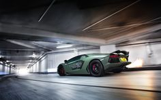 Flaming Aventador Roadster by Sam Moores on 500px