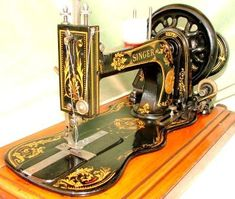 Catalina's sewing machine