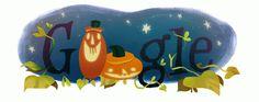 Google Doodles | Hallowe'en 2014