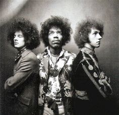 The Jimi Hendrix experience. ☚