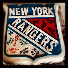 NY Rangers Cake!