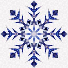 snow flake quilt blocks | Snowflakes Quilt