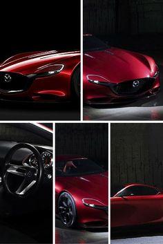 Mazda's RX-Vision Concept Car.