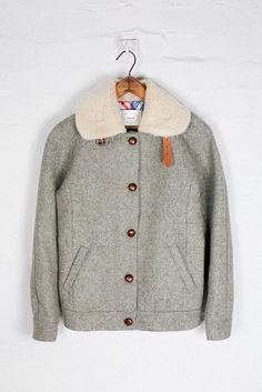 Shetland Wool Racer Jacket by Colenimo