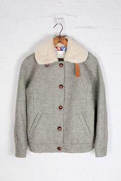 Shetland Wool Racer Jacket by Colenimo