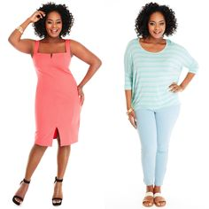 30% Off Stripes and Brights #PlusSizeFashion