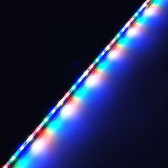 2 pcs DC12V 0.5 m 5730 IP68 Étanche Élèvent La Lumière Led bar rigide bande Rouge Bleu 5:1, 4:2 pour Aquarium vert maison Hydroponique usine